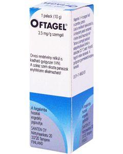 Oftagel  2,5 mg/g szemgél
