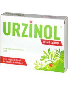 Urzinol bevont tabletta