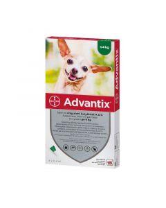 Advantix spot on 4kg alatti kutyáknak a.u.v.