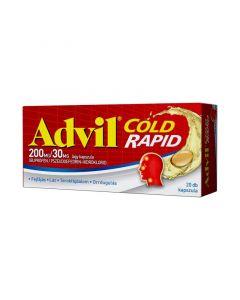 Advil Cold Rapid 200 mg/30 mg kapszula (Pingvin Product)