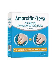 Amorolfin Teva 50 mg/ml gyógyszeres körömlakk