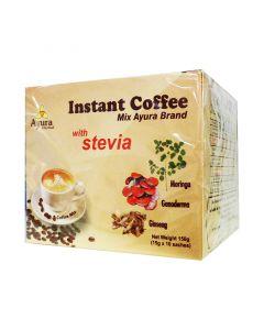 Ayura Herbal Instant Coffee mix steviaval tejporral