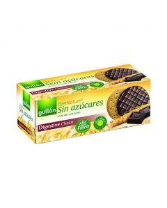 Gullon diabetikus korpás keksz étcsoki bevonattal (Pingvin Product)