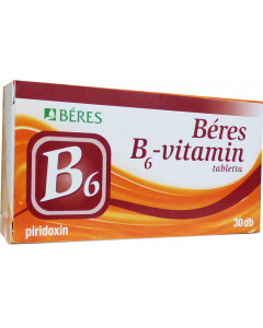 Béres B6 vitamin tabletta (Pingvin Product)