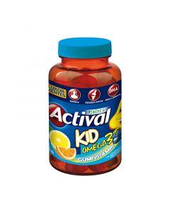 Actival Kid gumivitamin Omega-3 Gumitabletta cukormentes