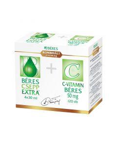 Béres Csepp Extra+ Béres C-vitamin 50 mg kombinált csomag