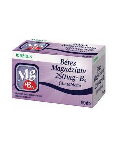 Béres Magnézium 250 mg+B6 filmtabletta (Pingvin Product)