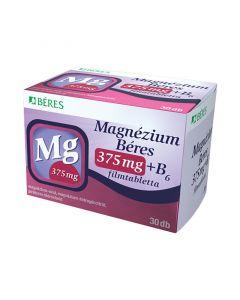 Magnézium Béres 375mg+ B6 filmtabletta (Pingvin Product)