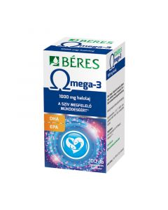 Béres Omega-3 étrkiegészítő lágyzselatin kapszula (Pingvin Product)