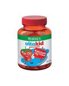 Béres VitaKid Ca D gumivitamin gumitabletta