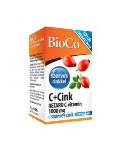 Bioco C vitamin+Cink Retard  1000mg filmtabletta