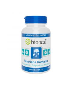 Bioheal Valeriana Komplex kapszula (Macskagyökér + Golgotavirág + Komlótoboz)