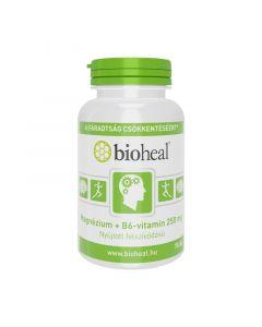 Bioheal Magnézium + B6-vitamin 250mg, nyújtott felszívódású tabletta