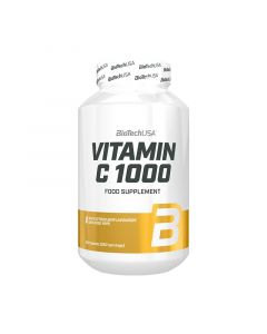 BioTechUsa Vitamin-C 1000 Bioflavonoids tabl. (Pingvin Product)