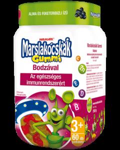 Walmark Marslakócskák Gummi bodzás multivitamin (Pingvin Product)