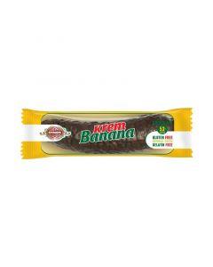 Choco banana étcsokiba mártott banán ízű szelet