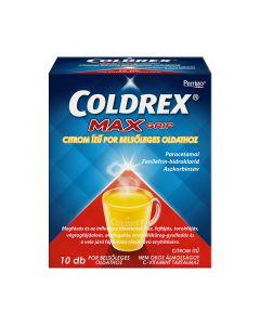 Coldrex MaxGrip citrom ízű por belsőleges oldathoz
