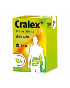 Cralex aktív szén 125 mg tabletta