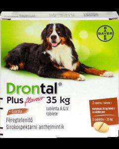 Drontal Plus tabl. a.u.v. 35kg felett (kutya)