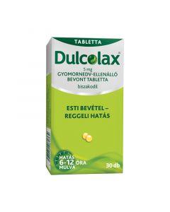 Dulcolax  5 mg gyomornedv-ellenálló bevont tabletta