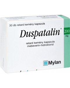 Duspatalin 200 mg retard kapszula
