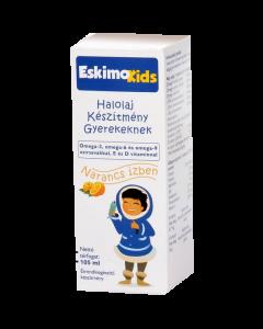 Eskimo Kids étrendkiegészítő olaj narancs