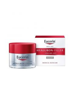 Eucerin Hyaluron-Filler+Volume Lift bőrfeszesítő éjszakai arckrém