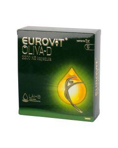 Eurovit Oliva-D 2200NE étrend-kiegészítő kapszula