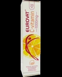 Eurovit C vitamin 1000 mg pezsgőtabletta citrom (Pingvin Product)