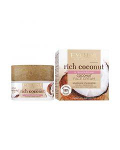 Eveline Rich Coconut Ultra tápláló kókuszos arckrém