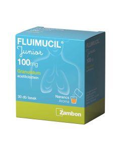 Fluimucil Junior 100 mg granulátum