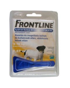 Frontline Spot on S kutya (2-10 kg)