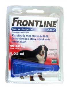 Frontline Spot on cseppek kutya XL a.u.v. (40+ kg)