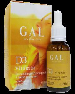 GAL D3-vitamin cseppek (Pingvin Product)