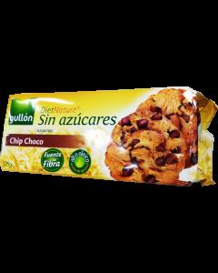 Gullon cukormentes csokidarabos keksz - 125g