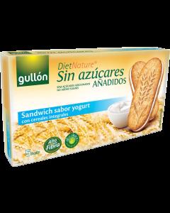 Gullon joghurtos cukormentes reggeli szendvicskeksz