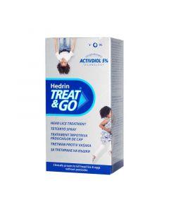 Hedrin Treat and Go tetűirtó spray (Pingvin Product)