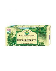 Herbária Borsosmentalevél filteres tea