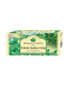 Herbária Fekete bodzavirág filteres tea