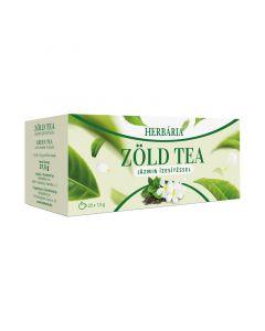 Herbária filteres zöld tea jázmin ízesítéssel