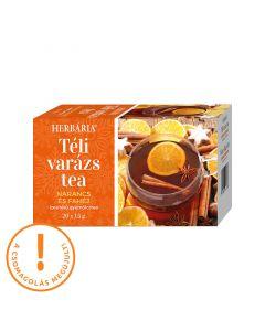 Herbária Téli varázs narancs-fahéj ízű gyümölcstea