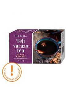 Herbária Téli varázs szilva-fahéj ízű gyümölcstea