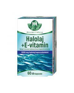 Herbária Halolaj + Omega-3 lágyzselatin kapszula