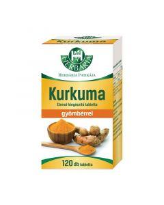 Herbária Kurkuma Gyömbérrel tabletta klsz
