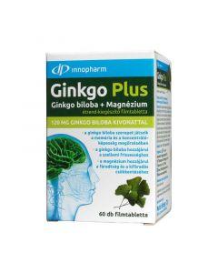Innopharm Ginkgo Plus 120 mg ginkgo bilobával és magnéziummal