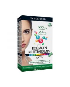 Interherb Kollagén multivitamin tabletta