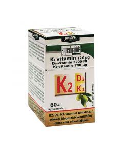 Jutavit K2 vitamin 120 mcg+D3+K1 tabletta (Pingvin Product)