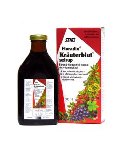 Krauterblut szirup vashiány ellen 250 ml