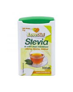 Love Diet Stevia és eritrit alapú édesítőszer tabletta