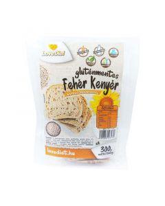 Love Diet gluténmentes fehér kenyér napraforgómaggal